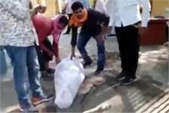 jhansi postmortem house cremation swaps one is a funeral the other