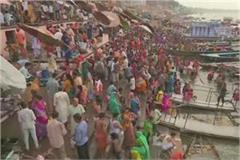 millions of pilgrims dip the faith of ganga dussehra