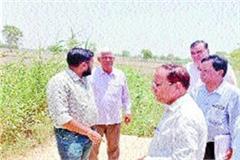 deputy commissioner to visit ghaggar drain