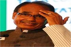 on the photo of cm shivraj was making heavy gestures