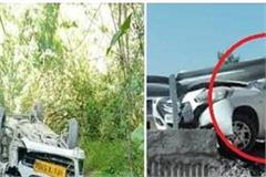 3 road accident occurring at different places in kullu