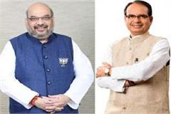amit shah elevated shivraj s height