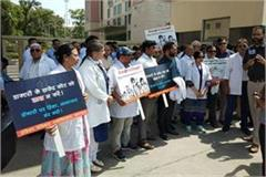 doctor strike affected health service in haryana