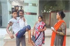 third degree given to minor boy in lucknow
