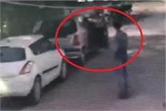 thieves in the city panic day stolen stolen cars captured pictures in cctv
