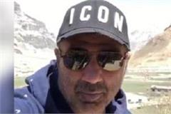 bollywood actor sunny deol reaches himachal