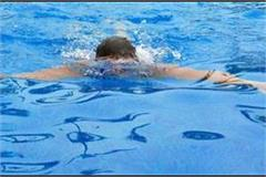 death of youth due to drowning in swimming pool