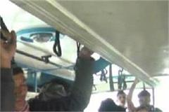 see how buses run into death in upper shimla