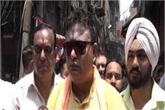 shiv sena sloganeering against khalistan in ludhiana