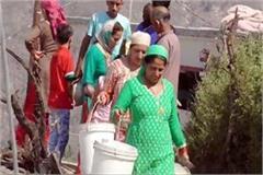 water crisis in kulthina village