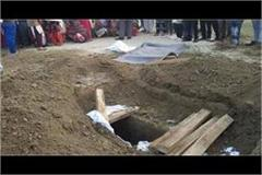 after the murder the young man was buried as a muslim