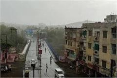 weather rejuvenated mood swept heat relief from first rain of monsoon