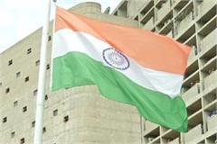 cm manohar hoisted 80 feet high tiranga in main secretariat