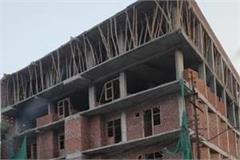 ghaziabad the illegal construction work