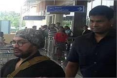 bollywood star aamir khan arrives in dharamshala