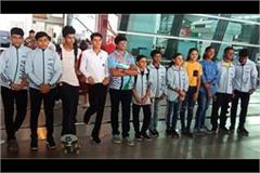 13 players from karnal will play abroad for international roller competition