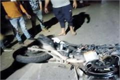 death of injured youth in road accident