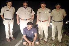 scooty rider arrested with hashish