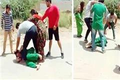 muktsar beaten mother