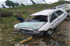gulaba road accident 5 injured
