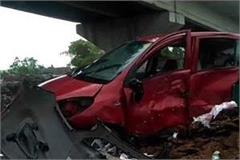 the car dropped below the overbridge the condition of both young men