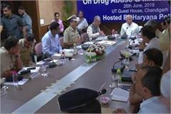 cm manohar meeting with haryana police on growing drug addiction in state