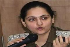 dsp tanya singh suspended government decision taken