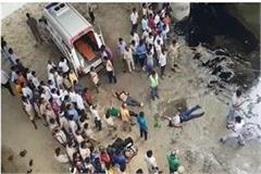 agra bus accident postmortem after seven hours of dead