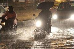 chances of heavy rains in the next 24 hours in mp