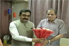 cricket commentator sushil jadhav joins bjp