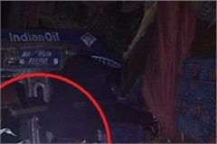 manali tanker collision killed the standing camper at leh nh