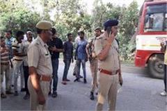prisoners fleeing in sambhal 4 policemen including sub inspector suspended