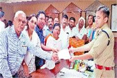 bjp leader lodged in false cases after coming to hate