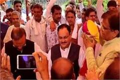 jp nadda will be the gurmet for victory in rohtak round of meeting