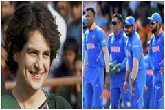 priyanka tweets congratulation on team india victory