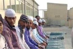 aligarh friday namaz  hanuman chalisa jama masjid shehar mufti