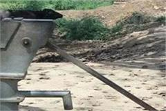now a single hand pump will not work in himachal