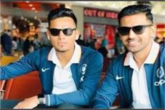 chahar brothers of agra elected to the indian cricket team
