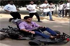jyotiraditya scindia picked up sports car driving