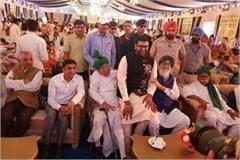 sirsa engagement of abhay chautala son arjun chautala