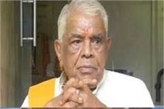 former chief minister babulal gaur s condition worsens