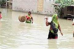 district administration in etawah started work on flood management scheme