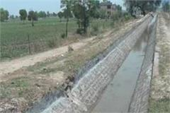 for the water of 11 villages rust continued for 30 days
