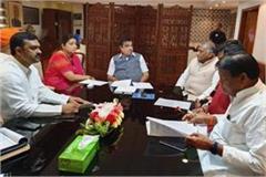 smriti meeting with nitin gadkari