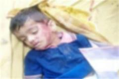 panipat school bus crushed innocent child death