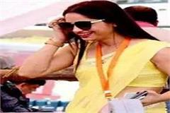 yellow sarees officer will leave sapna chaudhry