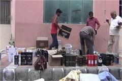 liquor recovered from home in rohtak