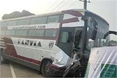 road accident in bahadurgarh one died