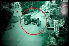tractor kills father and son on motorbike