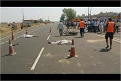 2 youths die due to speed jeep in hardoi